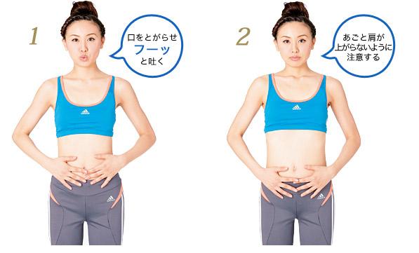 呼吸が全てを決める!?ダイエットに大切な呼吸法で身体を引き締めよう!
